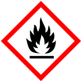 Flammable material