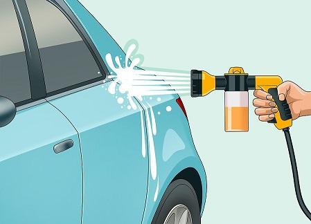 Arabadan cizikleri yok etme-2